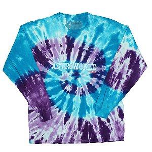 "Travis Scott - Camiseta Astroworld Tour ""Tie Dye"""