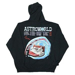 """Travis Scott -  Moletom Astroworld Tour I Dont wanna """"Black"""""""