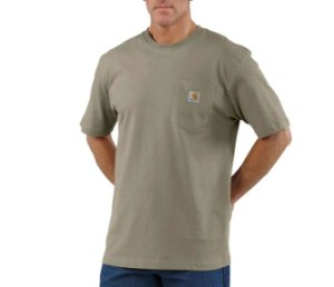 "CARHARTT- Camiseta Pocket ""Light Brown"""