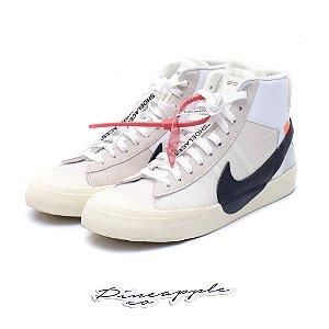 """Nike Blazer Mid x OFF-WHITE """"WHITE"""" -USADO-"""