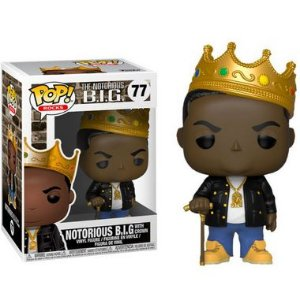 ENCOMENDA - FUNKO POP - Boneco The Notorious B.I.G #77