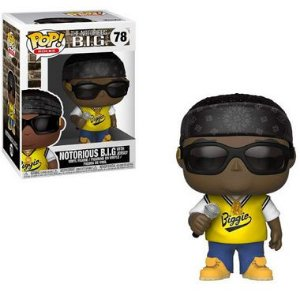 ENCOMENDA - FUNKO POP - Boneco The Notorious B.I.G #78