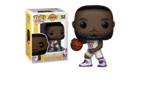 ENCOMENDA - FUNKO POP - Boneco Lakers Lebron James #52