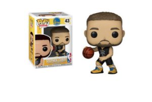 ENCOMENDA - FUNKO POP - Boneco Warriors Stephen Curry #43