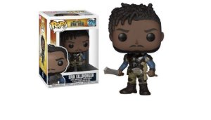 ENCOMENDA - FUNKO POP - Boneco Black Panther Erik Killmonger #278