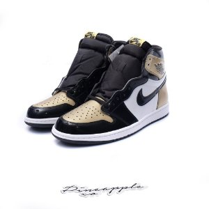 "Nike Air Jordan 1 Retro ""Gold Toe"""