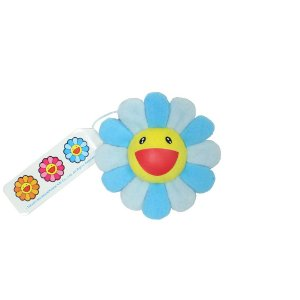 "KAIKAI KIKI - Pin Murakami Flower Cushion ""Blue"""