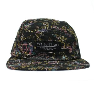 "THE QUIET LIFE - Boné Flowers ""Black"""