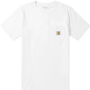 "CARHARTT- Camiseta Pocket ""White"""