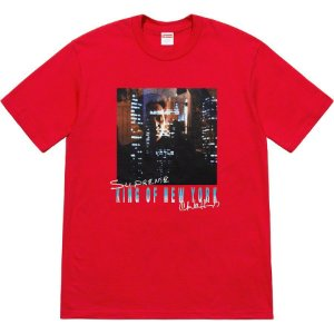 "SUPREME - Camiseta Christopher Walken King Of New York ""Red"""