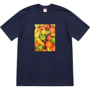 "SUPREME - Camiseta Fruit ""Navy"""