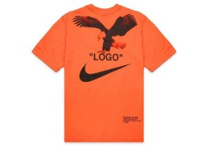 "Nike x Off-White - Camiseta NRG A6 ""Orange/Black"""