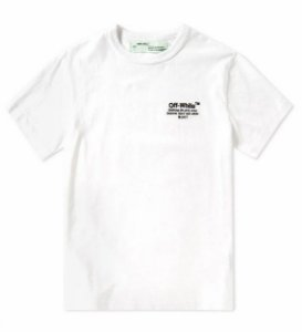 "OFF-WHITE - Camiseta OFF SS ""White"""