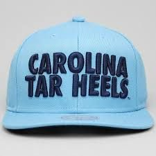 "MITCHELL & NESS - Boné Carolina Tar Heels ""Blue"""