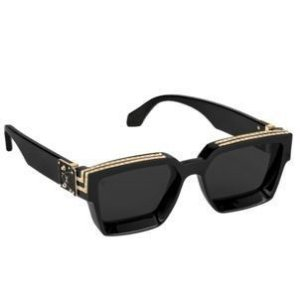 "LOUIS VUITTON - Óculos 1.1 Millionaires ""Preto"" -NOVO-"