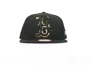 "NEW ERA - Boné Boston ""Black/Camo"""