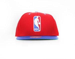 "MITCHELL & NESS - Boné NBA Logo ""Red"""