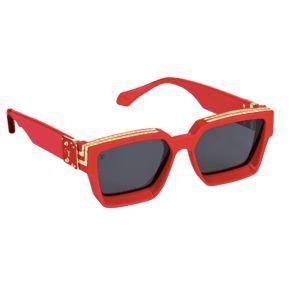 "LOUIS VUITTON - Óculos 1.1 Millionaires ""Vermelho"" -NOVO-"