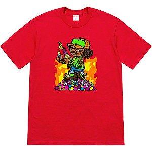 ENCOMENDA - SUPREME - Camiseta Molotov Kid