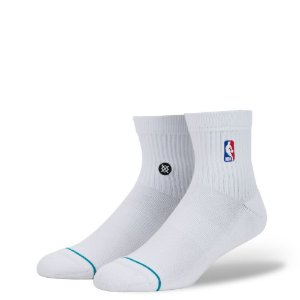 "STANCE - Meias NBA Logo Man  ""White"""