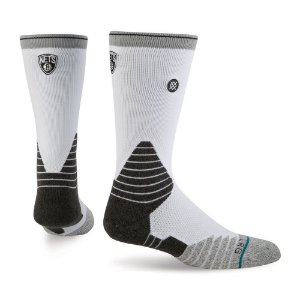 "STANCE - Meias NBA Nets ""White/Grey"""
