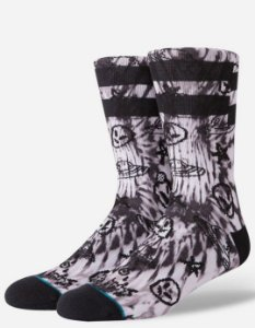 "STANCE - Meias No Brain ""Black"""