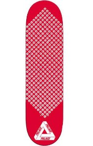 "PALACE - Shape EEE 3 Skateboard Deck ""Red"""