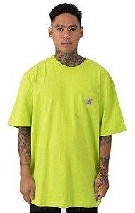 """CARHARTT- Camiseta Pocket """"Lemon"""""""