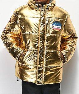 "CHAMPION - Jaqueta Metallic Gold Puffer ""Metallic"""