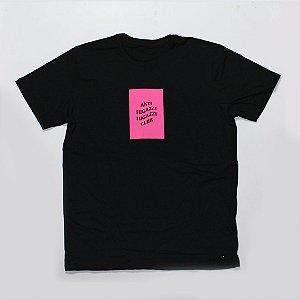 """YEEZY BUSTA - Camiseta AFFC Box logo """"Black/Pink"""""""