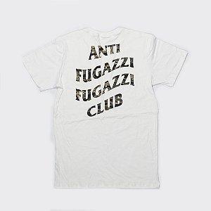 """YEEZY BUSTA - Camiseta Anti Fugazzi Club """"White/Camo Green"""""""