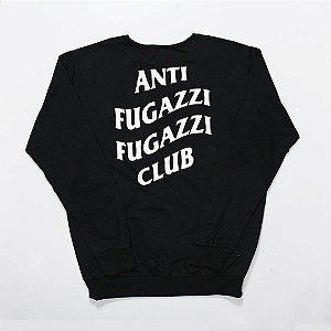 """YEEZY BUSTA - Moletom Anti Fugazzi Club """"Black/White"""""""