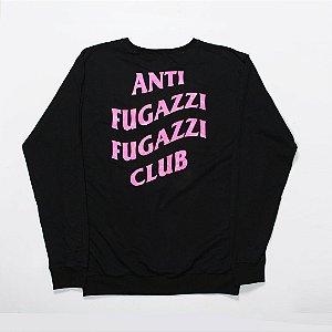 "YEEZY BUSTA - Moletom Anti Fugazzi Club ""Black/Pink"""