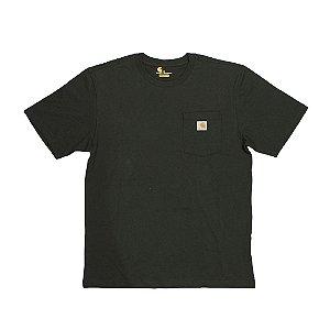 """CARHARTT- Camiseta Pocket """"Dark Green"""""""