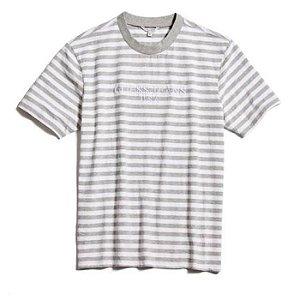 "Guess x Asap Rocky - Camiseta Logo GUE$$ ""Grey/White"""