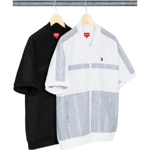 ENCOMENDA - Supreme x Playboy - Camisa Leisure Zip Up