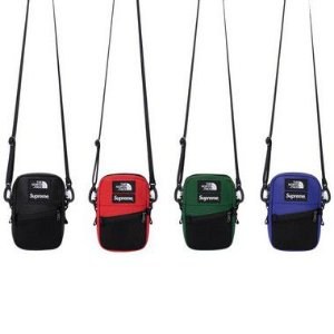 ENCOMENDA - Supreme x The North Face - Bolsa Shoulder Leather