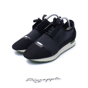 "BALENCIAGA - Race Runner ""Black"" -USADO-"