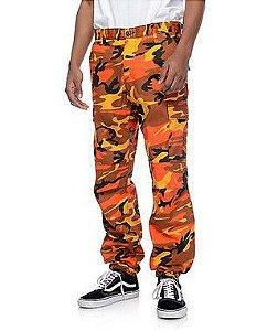 "ROTHCO - Calça BDU Savage Camo ""Orange"""
