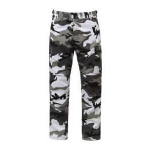 "ROTHCO - Calça BDU Tactical Camo ""White/Black"""
