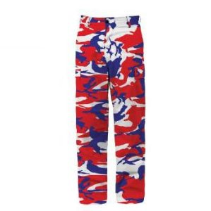 "ROTHCO - Calça BDU Tactical Camo ""Blue/Red"""