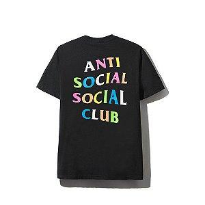 "ANTI SOCIAL SOCIAL CLUB - Camiseta Rainbow ""Black"""