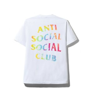 "ANTI SOCIAL SOCIAL CLUB - Camiseta Thai Dye ""White"""