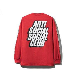 """ANTI SOCIAL SOCIAL CLUB - Camiseta Block Me """"Red"""""""