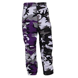 "ROTHCO - Calça Two-Tone BDU Camo ""Purple/Grey"""