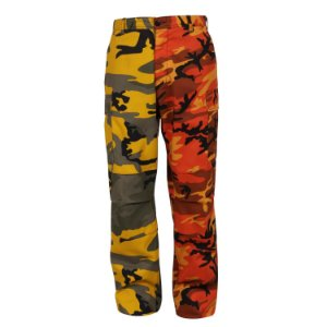 "ROTHCO - Calça Two-Tone BDU Camo ""Yellow/Orange"""