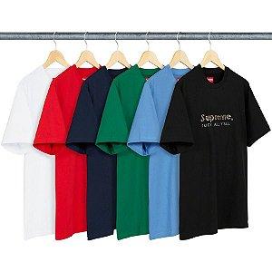 ENCOMENDA - SUPREME - Camiseta Gold Bars