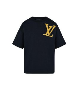 "LOUIS VUITTON - Camiseta LV Brick ""Black"""