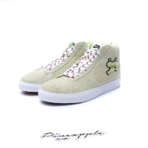 "Nike SB Blazer x Frog Skateboards ""Liquid Lime"" -NOVO-"