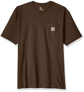 "CARHARTT- Camiseta Pocket ""Dark Brown"""